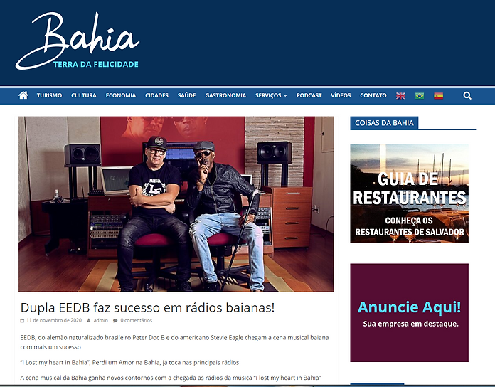 EEDB having success in Bahia Brazil