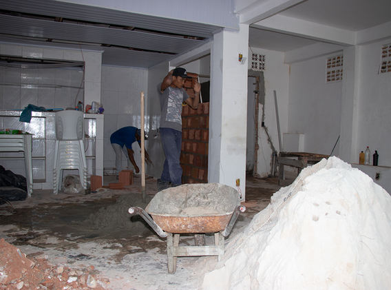 Phase 2 building work