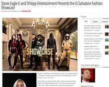 G Salvatore Fashion showcase Headliners story