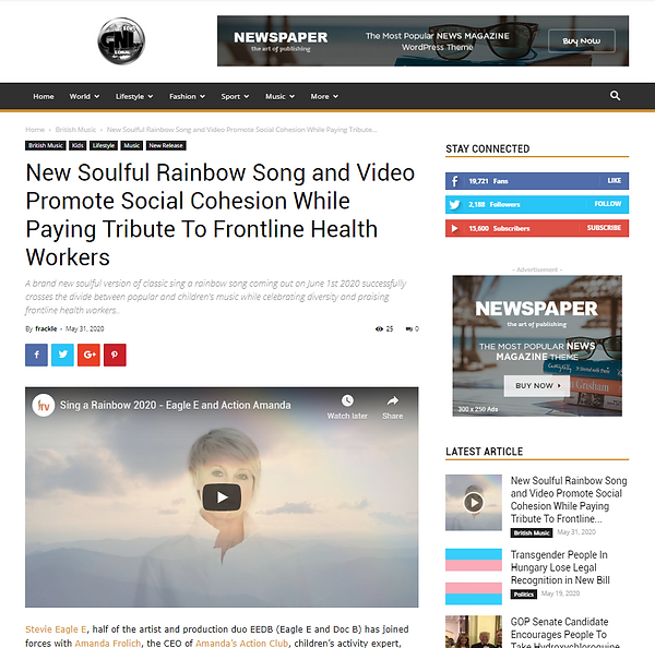 Rainbow global news story