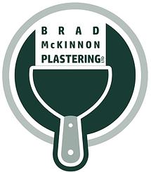 Brad McKinnon Plastering Logo