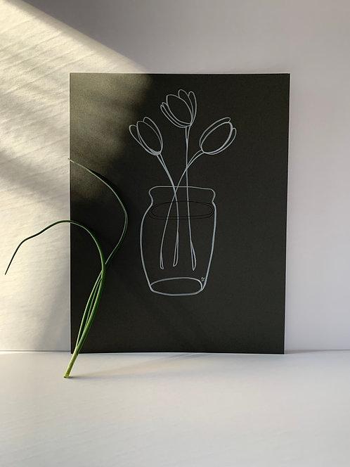 Tulips are pretty