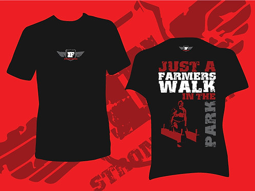T Shirt - Farmers Walk in the Park