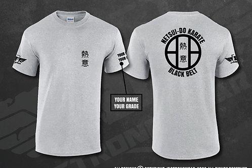 Netsui-do Youth T-Shirt - Black Belt Karate