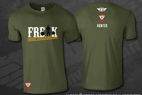 T Shirt - Hunted - Freak Under Construction
