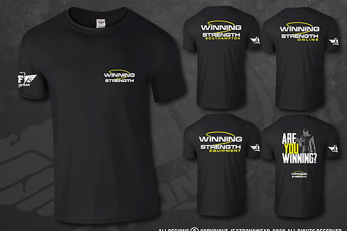 Winning Strength - Logo Ts