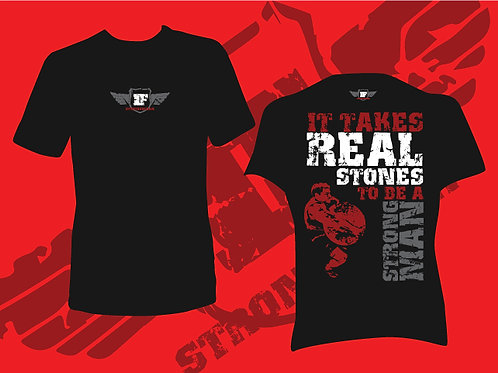 T Shirt - Real Stones