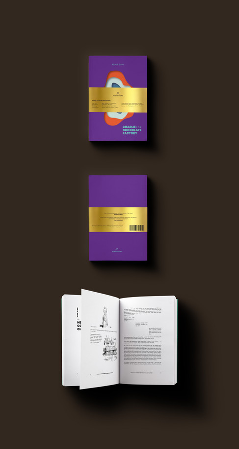 Redesign: Charlie & The Chocolate Factory
