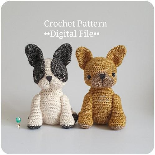 Ellie the Frenchie Crochet Pattern