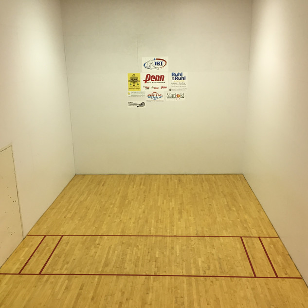 1 of 6 Racquetball Courts