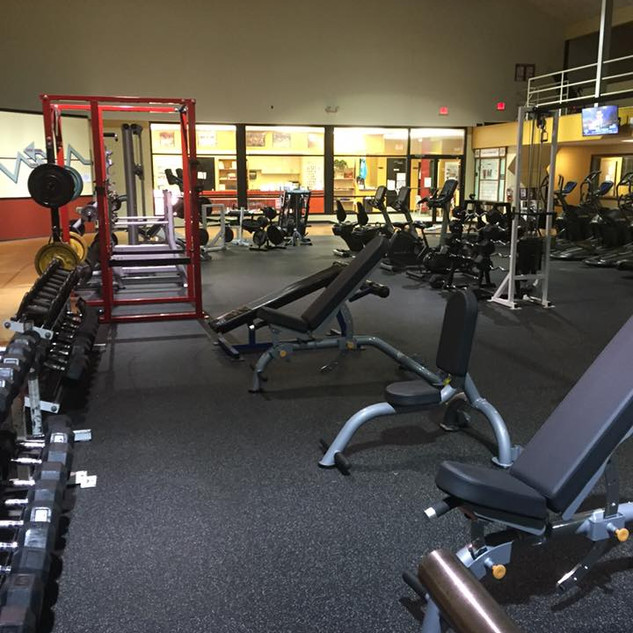 Benches and weights
