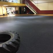 Empty Classroom Area