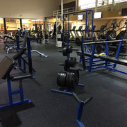 Free-Weight area
