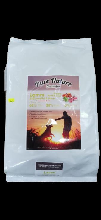 Pure Nature Lamm mit Süßkartoffel & Minze