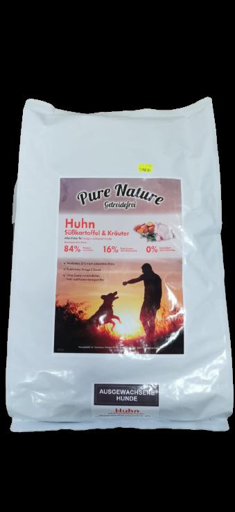 Pure Nature Huhn mit Süßkartoffel & Kräuter