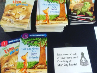 Aesop's Fables Encourages Local Literacy