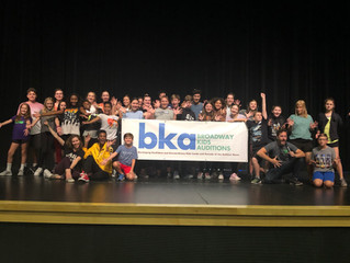 Broadway Kids Auditions