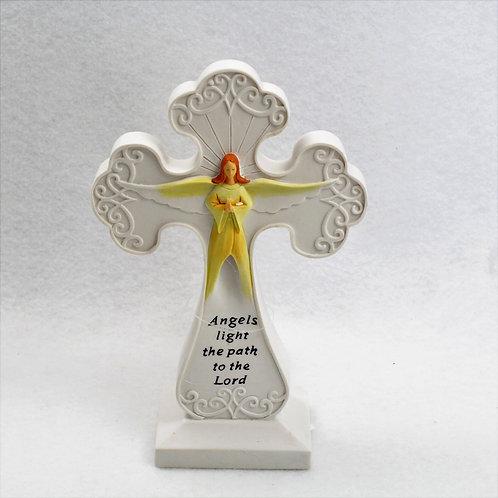 Light Up Angel Cross