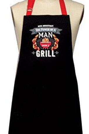 Summer Grill Man Chef Apron