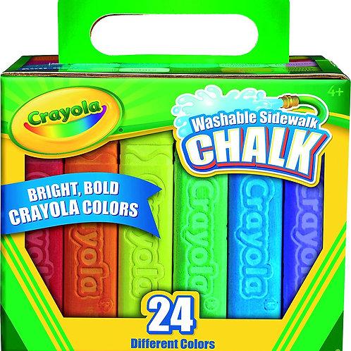 Crayola Sidewalk Chalk  24 count