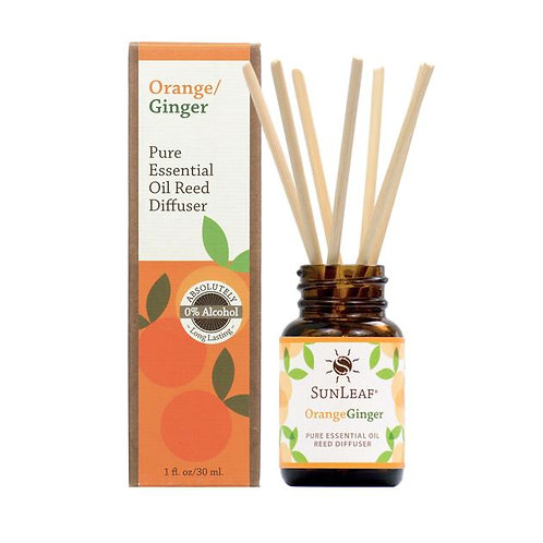 Diffuser & Oils - Orange/Ginger