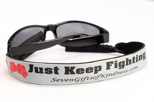 Eyewear Retainers - Just Keep Fighting