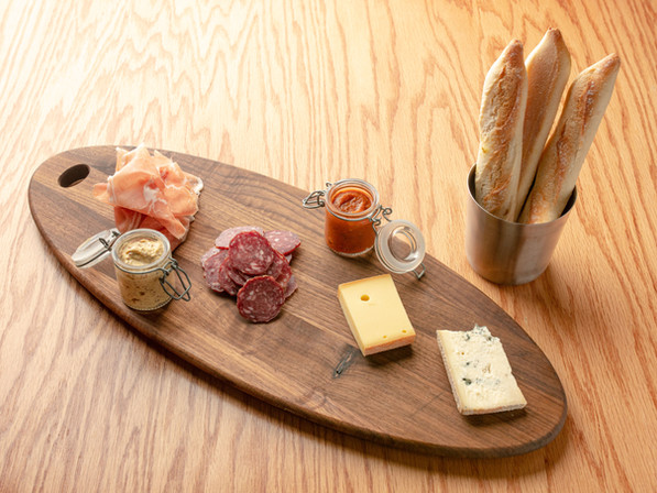 Charcuterie and Cheese Board