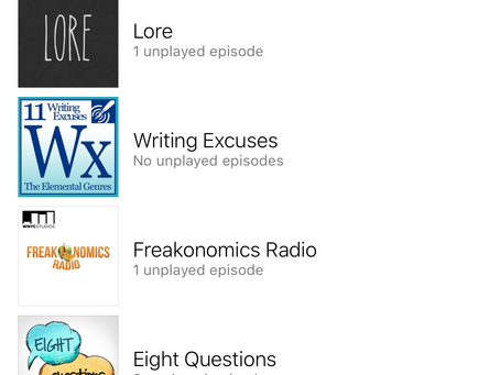 My Favorite Podcasts 2016