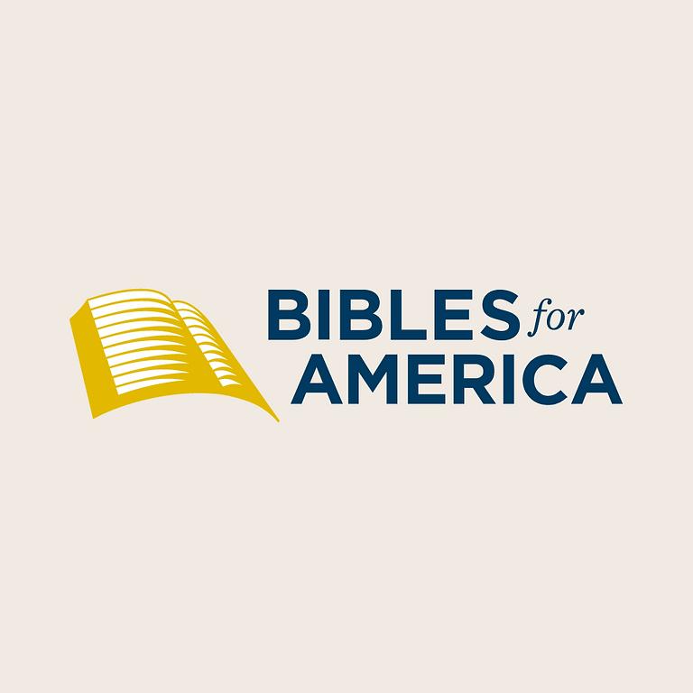 Bibles for America (BfA) Special Webinar