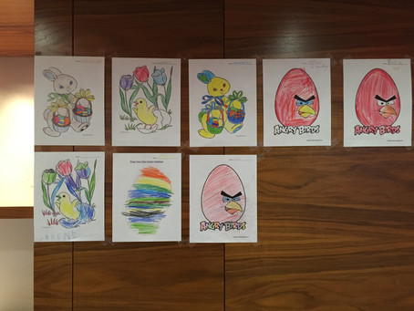 Easter 2016: Colouring Contest