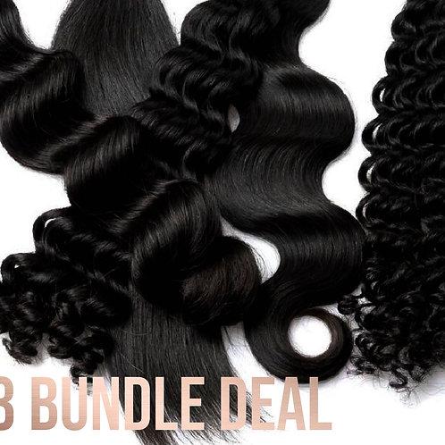 Gold Virgin Hair 3-Bundle Deal