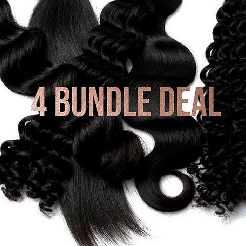Silver Hair 4 Bundle Deal