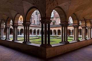 Cloister of St. Andrew's Basilica