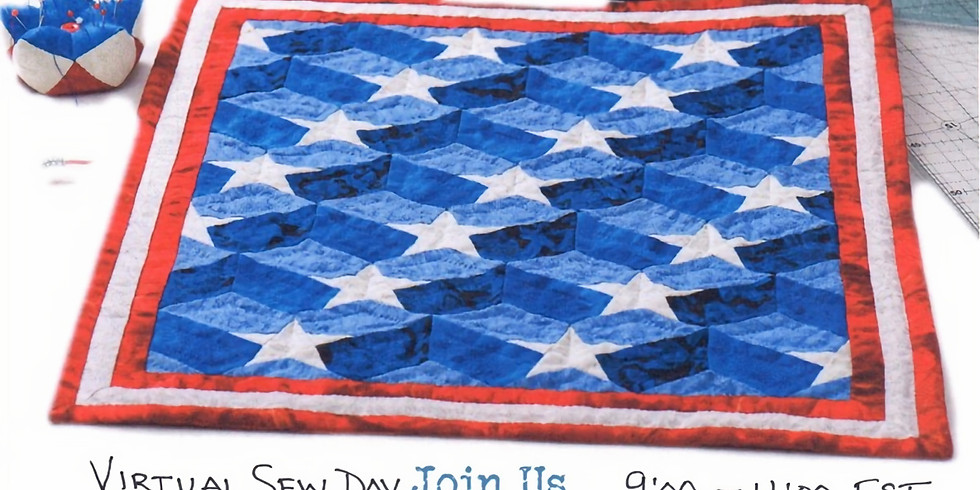 Virtual Quilts of Valor Sew Day!