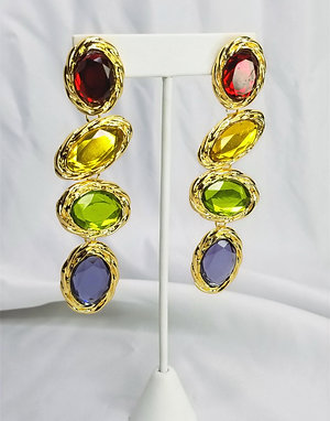 Top Contender Gem earrings