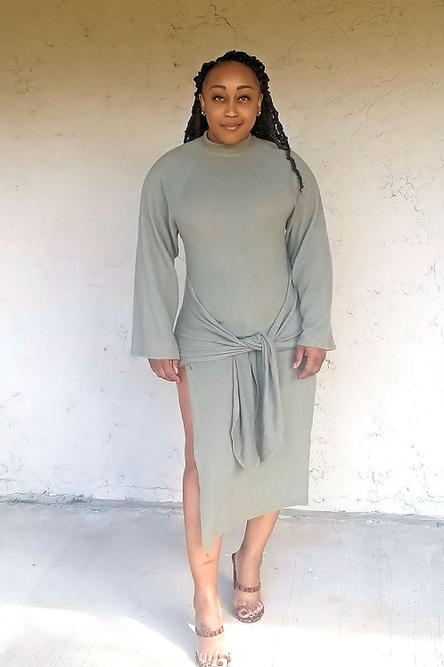 Good Benefits Sweater Dress