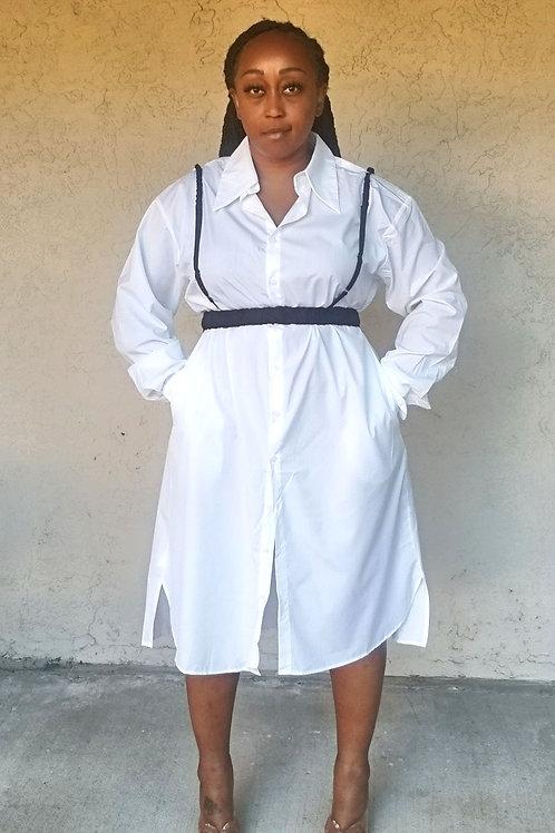 Effortless Button Down Dress