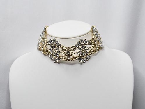 Crystal Collar Choker