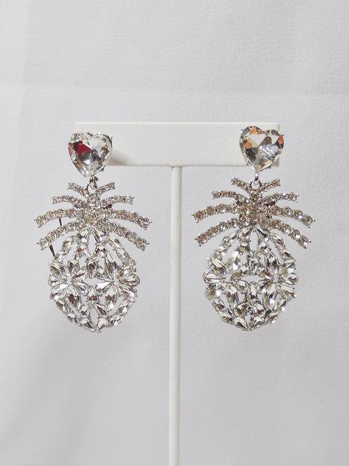Rhinestone Party Earrings
