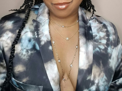 Pearl Fantasy Chain necklace