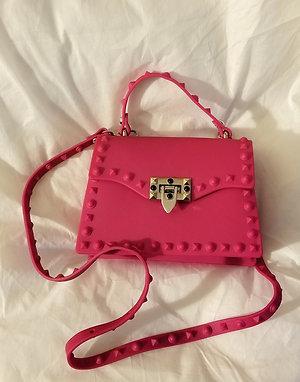 Stud Life Shoulder Bag - Pink