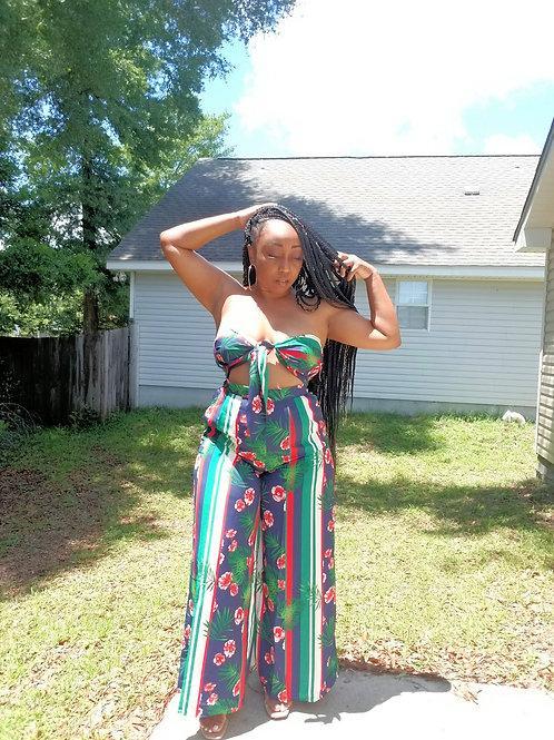 Tropical Breeze Pants Set