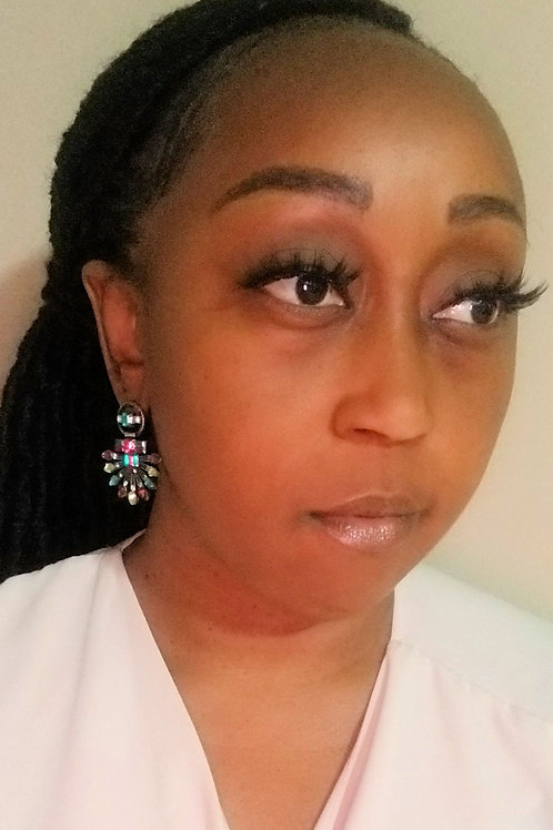Color Explosion earrings