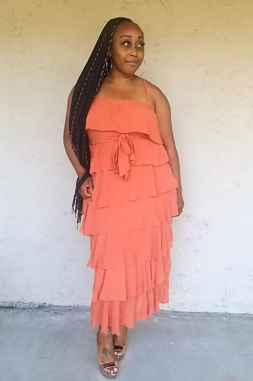 Tiers To You Maxi Dress