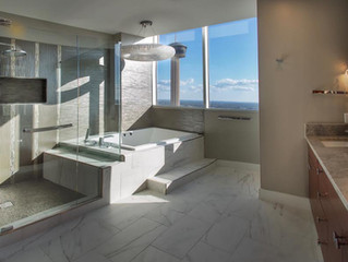 Bathroom with a View...