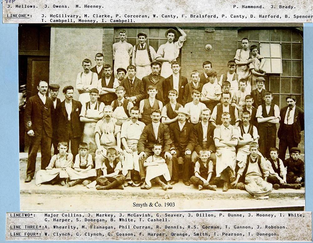 Cotton Mills Balbriggan 1903