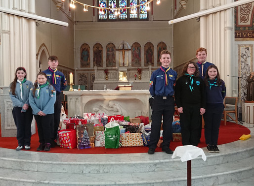 St Vincent de Paul benefit from first of two big Christmas events this week.