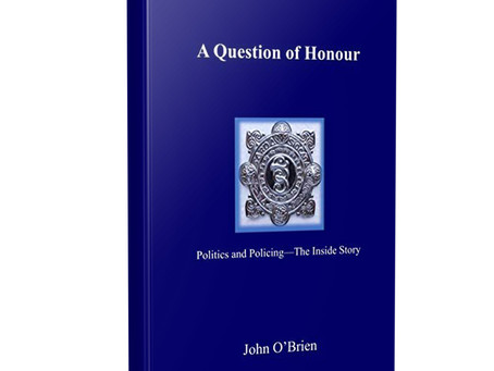 "Glad to Share some Exciting Reviews of  ""A Question of Honour""...... And a New Book on the Way"