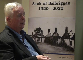 Heritage Week talk on the Sack of Balbriggan by Jim Walsh via Youtube.