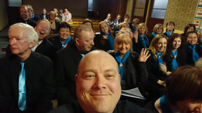 Performing with Balbriggan Gospel Choir May 2019
